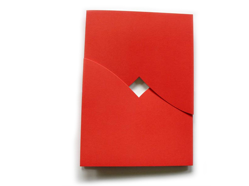 Nib and tuck interlocking red nib tuck business holiday cards corporate greeting cards bulk order wholesale blanks vancouver canada reheart Images